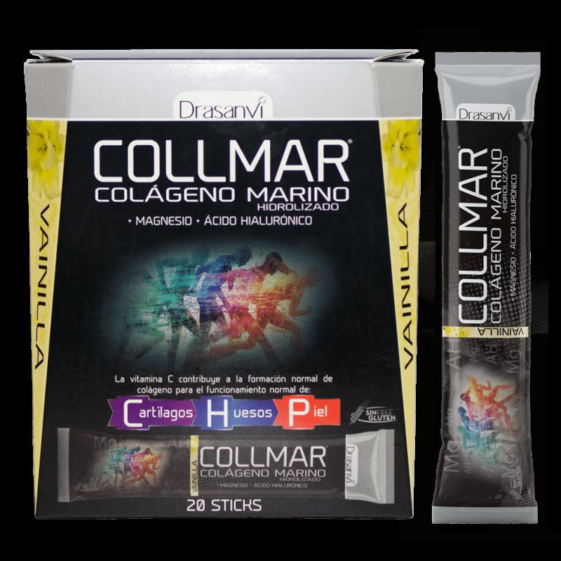 Stick de Colágeno Marino con Magnesio Sabor Vainilla Collmar Drasanvi 20x11g